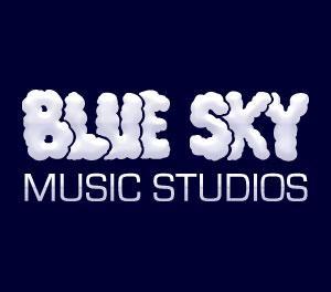 Blue-sky-recording-music-studios-logo